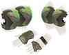 Защита для катания (комплект) Zel Perfection SK-4685BKG серо-зеленая - фото 1