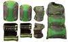Защита для катания (комплект) Zel Perfection SK-4685BKG серо-зеленая - фото 2