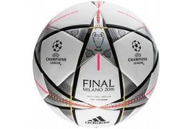 Фото 1 к товару Мяч футбольный Adidas Finmilanottrain, размер - 4