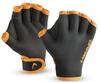 Перчатки для бассейна Head черно-оранжевые - фото 1