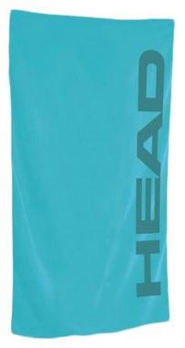 Полотенце с микрофибры Head Sport 150*75 см голубое