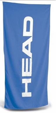 Полотенце Head Sport хлопок 140*70 см голубое