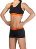 Купальник женский Head Splice Bikini Plus черно-оранжевый - фото 2