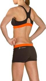 Фото 3 к товару Купальник женский Head Splice Bikini Plus черно-оранжевый