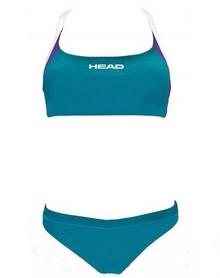 Купальник женский Head Spritz Bikini зеленый