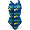 Купальник детский Head Starfish Girl синий - фото 1