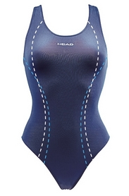 Фото 1 к товару Купальник женский Head Streamline синий