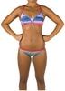 Купальник женский Head Swim Bikini Lady -PBT голубо-салатный - фото 2