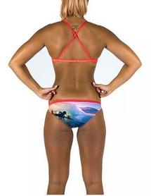 Фото 3 к товару Купальник женский Head Swim Bikini Lady -PBT голубо-салатный