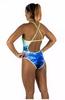 Купальник женский Head Swim Lady сине-зеленый - фото 3