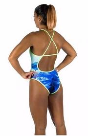 Фото 3 к товару Купальник женский Head Swim Lady сине-зеленый