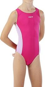 Фото 2 к товару Купальник детский Head V Solid Girl - Lycra розовый