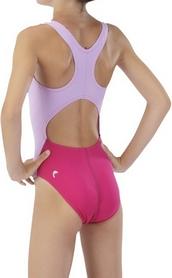 Фото 3 к товару Купальник детский Head V Solid Girl - Lycra розовый