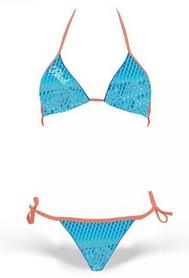 Купальник женский раздельный Head Scale Bikini Pipe Lady голубой