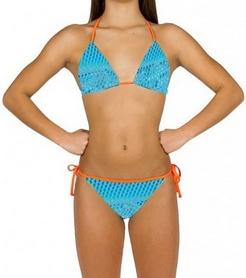 Фото 2 к товару Купальник женский раздельный Head Scale Bikini Pipe Lady голубой