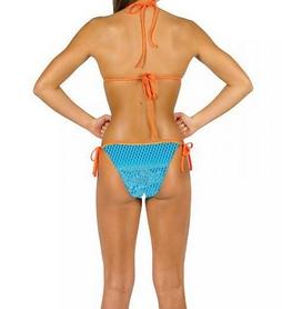 Фото 3 к товару Купальник женский раздельный Head Scale Bikini Pipe Lady голубой
