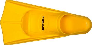 Ласты для басейна Head Soft желтые, размер 35-36