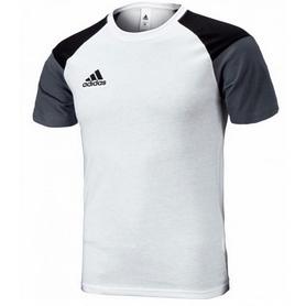 Фото 1 к товару Футболка мужская Adidas Condivo 16 бело-серая