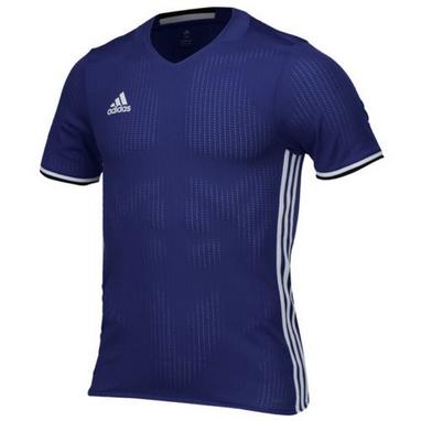 Футболка футбольная Adidas Condivo 16 JSY темно-синяя