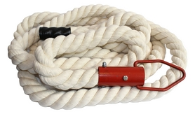 Фото 1 к товару Канат тренировочный для лазания ZLT Crossfit Battle Rope (5,5 м)