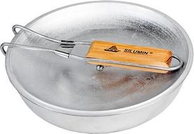 Фото 3 к товару Сковорода походная с антипригарным покрытием с ручкой БЛС 24