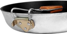 Фото 4 к товару Сковорода походная с антипригарным покрытием с ручкой БЛС 24