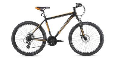 Велосипед горный Avanti Smart 29ER 2016 черно-оранжевый матовый, рама - 21