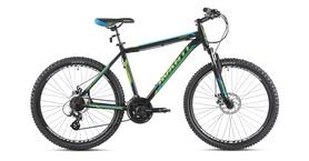 """Велосипед горный Avanti Smart 650B 27,5"""" 2016 черно-зеленый - 21"""""""