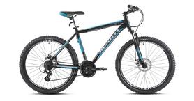 """Велосипед горный Avanti Smart 26"""" черно-голубой рама - 17"""""""