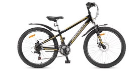 """Велосипед горный Avanti Dakar 26"""" 2016 черно-серебристый рама - 18"""""""