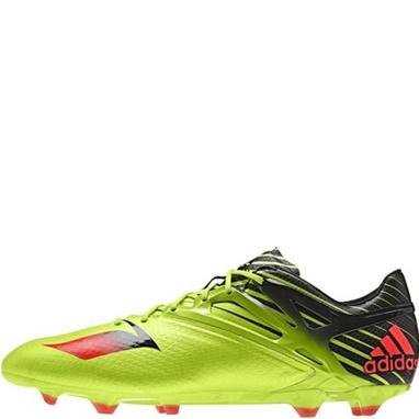 Бутсы футбольные Adidas Messi 15.1 салатовые