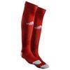 Гетры футбольные Adidas Milano 16 Sock красные - фото 1