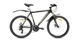 "Велосипед горный Avanti Meteorite 26"" 2016 черно-серый рама - 21"""