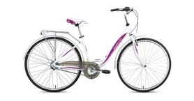 Фото 1 к товару Велосипед городской Avanti Blanco 26'' 2016 бело-розовый рама - 16