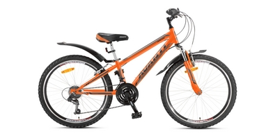 Велосипед детский Avanti Dakar 24 2016 оранжево-серый рама - 11