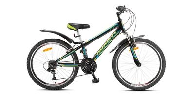 Велосипед детский Avanti Dakar 24 2016 черно-голубой рама - 11