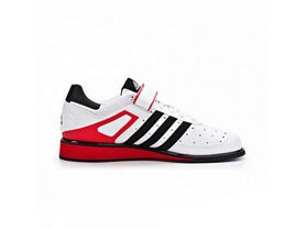 Фото 1 к товару Штангетки Adidas Power Perfect II белые