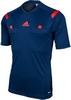 Футболка арбитра Adidas REF 14 JSY синяя - фото 1