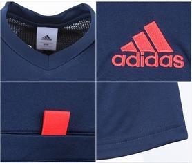 Фото 3 к товару  Футболка арбитра Adidas REF 14 JSY синяя