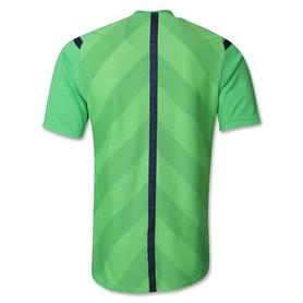 Фото 2 к товару Футболка арбитра Adidas REF 14 JSY зеленая