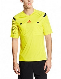 Фото 3 к товару Футболка арбитра Adidas REF 14 JSY желтая