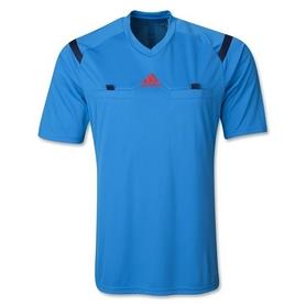 Футболка арбитра Adidas REF 14 JSY голубая