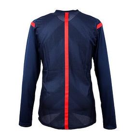 Фото 2 к товару Футболка арбитра с длинным рукавом Adidas REF 14 JSY LS синяя