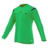 Футболка арбитра с длинным рукавом Adidas REF 14 JSY LS зеленая - фото 1