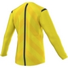 Футболка арбитра с длинным рукавом Adidas REF 14 JSY LS желтая - фото 3