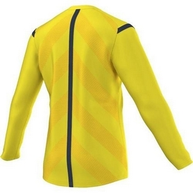 Фото 3 к товару Футболка арбитра с длинным рукавом Adidas REF 14 JSY LS желтая