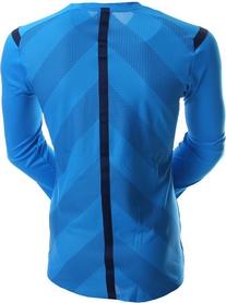 Фото 2 к товару Футболка арбитра с длинным рукавом Adidas REF 14 JSY LS голубая