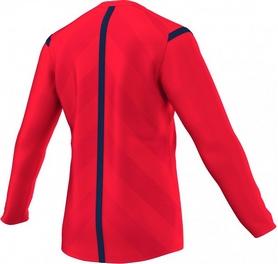 Фото 2 к товару Футболка арбитра с длинным рукавом Adidas REF 14 JSY LS красная