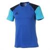 Футболка Adidas CON16 TEE синяя - фото 1