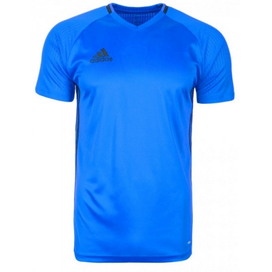 Футболка футбольная Adidas CON16 TRG JSY синяя